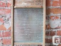 2 x Vintage Washboards available! In great working