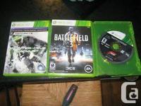 2 xbox 360 games  splinter cell blacklist signature