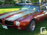 Beautiful Firebird with rare factory sunroof. Never
