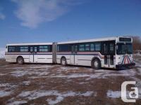 This is a Ex 61' City Articulated Transit Bus. Ready