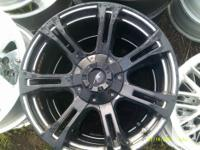 """20"""" Black and Machined Rims Fits Ford, Chevy, GMC, Bolt"""