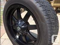 I'm selling my sweet FUEL Frontier wheels (20 x 9) and