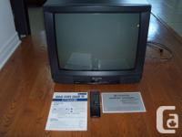 This Hitachi Colour TV is in outstanding condition.