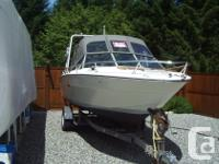 For Sale: 20' SeaRay. Chev 350. Stainless steel prop.