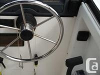1994 Bayliner Trophy walk-around. 82 inch beam. Small