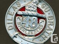 ANGUS COIN SHOP Item Description 48th Highlander, Royal