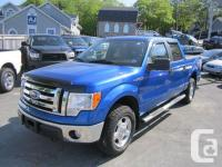 2010 FORD F-150 XLT CREW CAB, 4X4, NEW MVI, BFG TIRES,
