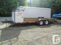 20 ft flat deck trailer Trailer Factory Ltd brand Comes