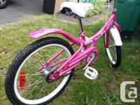 """2 year old 20"""" Cream Soda bike. Ridden maybe 3 times."""