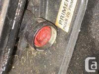 20 inch lawnmower Briggs & Stratton needs a new primer
