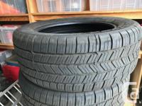 Four Goodyear Eagle M&S  P275/55R20 truck tires. Only