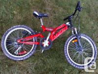 "Louis Garneau - Chacal - Jr. 20""wheels bike. Can suit"