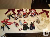 20 Item Christmas Decorations Selection - Offering