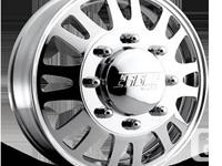 """20"""" American Eagle 056 Dually Wheels  2 Front Polished"""