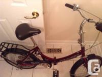 "20"" Schwinn Tango (Folding bike)  - this is not a very"