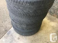 4 toyo proxes st2 tires 275/45 R20 About half tread