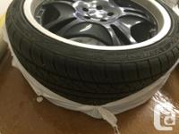 """I have 20"""" momo k one rims 5 * 114.3 bolt pattern and"""