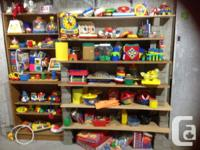 About 200 Top quality baby/toddler/children's toys ...