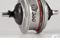 The NuVinci N360 hub is a continuous variable