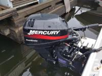 5 litre Mercruiser and 15hp 4 stroke Pump out head