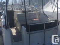 5L Merc Cruiser with Alpha 1 leg Shore power, fridge,