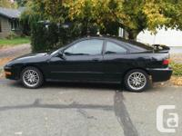 Make Acura Model Integra Year 2000 Colour Black kms