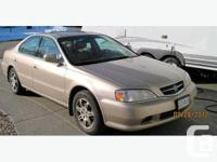 Armstrong, BC 2000 Acura TL Sedan This reliable and fun
