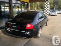 Make Audi Model S6 Year 2000 Colour Black kms 109700