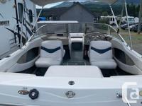-19.5ft -3.0L inboard/outboard -7 passenger -Bimini