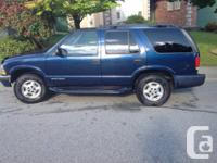 2000 Chevy Blazer LS.... Will be hard to find a better