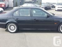 Used, Make BMW Model 5 Series Year 2000 Colour black kms for sale  British Columbia