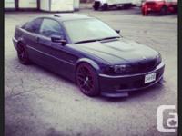 For Sale 2000 BMW 323i 165,000kms 5 speed M3 replica