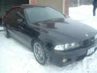 2000 JET BLACK BMW //M5 5.0L V8 400 HP RARE!!! ?