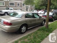 Make Buick Model LeSabre Year 2000 Colour Tan kms