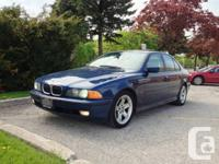 2000 BMW 540I, 1 proprietor, automatic, Ontario