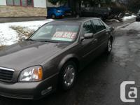 Make Cadillac Model DeVille Year 1999 Colour brown kms