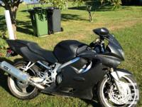 2000 Honda CBR 600 for sale. In good condition. Has a