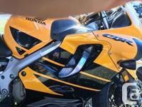 Make Honda Model Cbr Year 2000 kms 29561 Beginner bike,