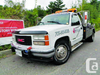 2000 Chevrolet 3500 Tow Truck Manual Transmission,