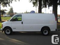 Make Chevrolet Model Express Cargo Van Year 2000