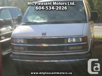 2000 Chevrolet Express 3500 Extended CARGO VAN -