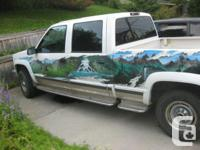 This Chevrolet Silverado 2500 Supercrew pick-up truck