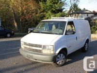 i have a 2000 chevy astro for sale. this van is in