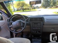 Make Chevrolet Model Venture Passenger Year 2000