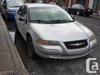 2000 Chrysler Cirrus LX - 4 door -odometer: 160000