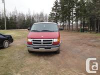 Make. Dodge. Year. 2000. Colour. Red. kms. 175000. Van