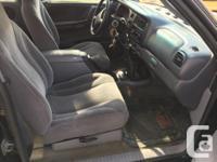 Make Dodge Colour Black Trans Manual kms 230000 2000