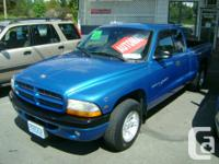 Make Dodge Model Dakota Club Year 2000 Colour BLUE kms