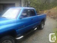 Make Dodge Model Ram 1500 Colour Blue Trans Automatic