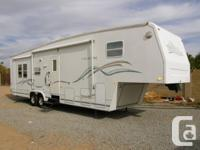 UP FOR sale IS A 2000 WILDERNESS FIFTHWHEEL BY